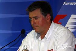 Conferencia FIA del viernes: vicepresidente de Honda, Otmar Szafnauer