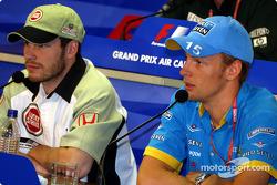 Conferencia FIA del viernes: Jacques Villeneuve y Jenson Button
