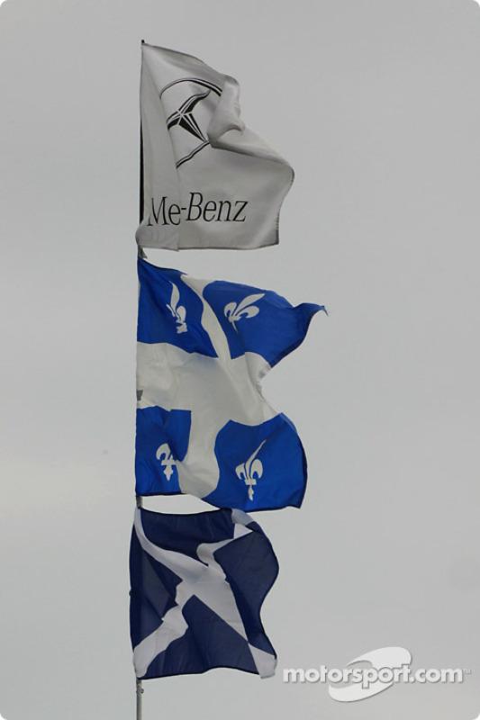 Le fanclub officiel McLaren-Mercedes / Jacques Villeneuve / David Coulthard à Montréal