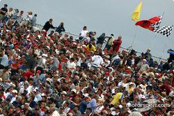 Casa llena: aficionados de Montreal antes de la sesión de clasificación