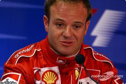 Conferencia de prensa FIA del sábado: Rubens Barrichello