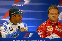 Conferencia de prensa FIA del sábado: Juan Pablo Montoya y Rubens Barrichello