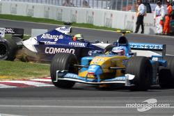 Ralf Schumacher en el césped