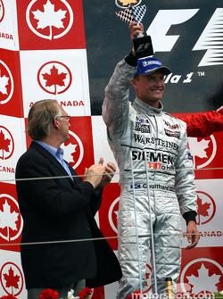 El podio: David Coulthard