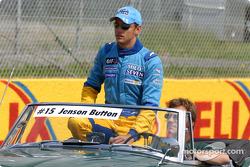 Desfile de pilotos: Jenson Button