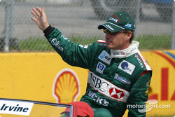 Desfile de pilotos: Eddie Irvine
