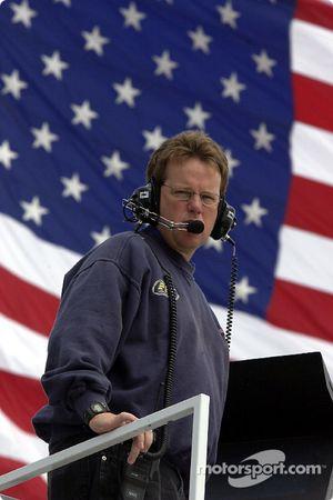 Mike Beam, chef d'équipe de la Tide Ford Taurus