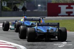 Felipe Massa y Nick Heidfeld