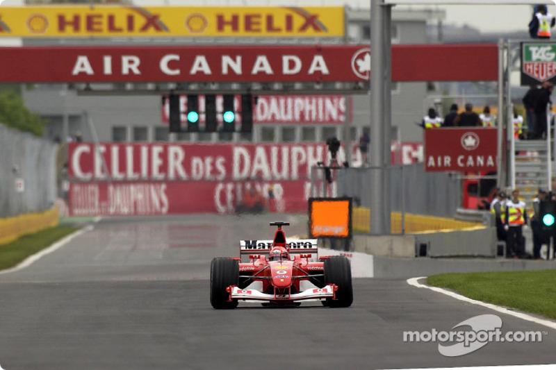 Michael Schumacher havia vencido ali na Fórmula 1 dois meses antes