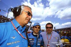 Flavio Briatore, Jarno Trulli et Patrick Faure