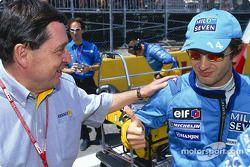 Patrick Faure et Jarno Trulli