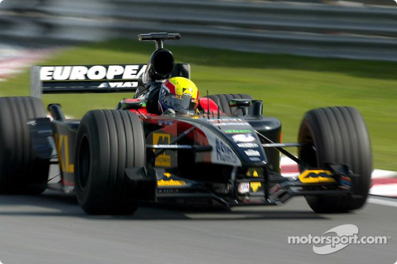 2002 - F1 chez Minardi