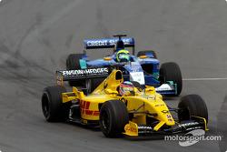 Takuma Sato y Felipe Massa