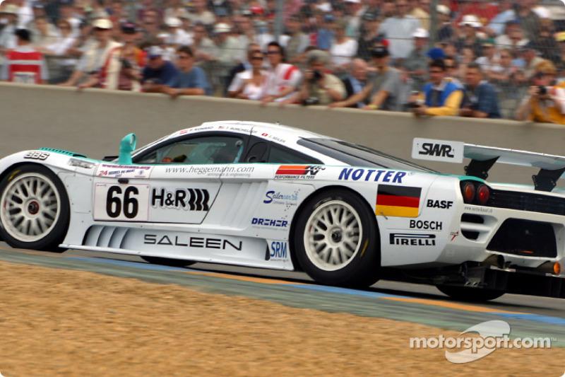 Primera vuelta: el Saleen-Ford S7R de Konrad Motorsport