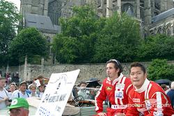 Guillaume Gomez y Ruo Fukuda