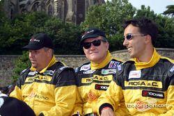 Luca Riccitelli, Gabrio Rosa y Luca Drudi