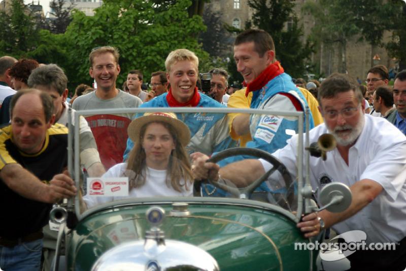 Didier Cottaz, Boris Derichebourg y Thed Bjork