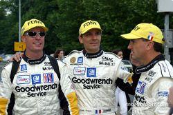 Andy Pilgrim, Franck Fréon y Kelly Collins