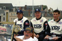Leo Hindery, Tony Kester et Peter Baron