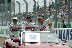 Presentación de pilotos: Christian Pescatori, Rinaldo Capello y Johnny Herbert