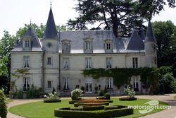 Motorsport.com's headquarters during the 24 Hours of Le Mans: the Château de Montgouverne in the Tours area