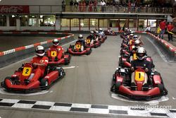 Karting en la pista de Michael Schumacher en Kerpen: con el mismo Michael en la pista