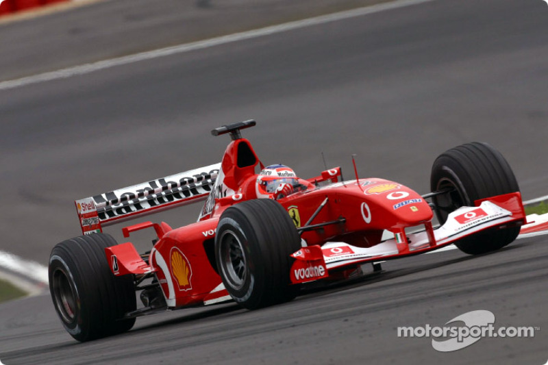 2002 - Nürburgring: Rubens Barrichello, Ferrari F2002