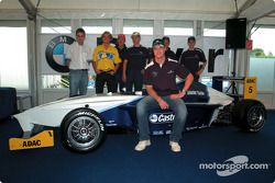 Ralf Schumacher ve pilotu s, Formula BMW ADAC championship