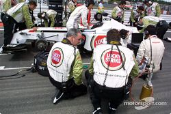 Team BAR gridde
