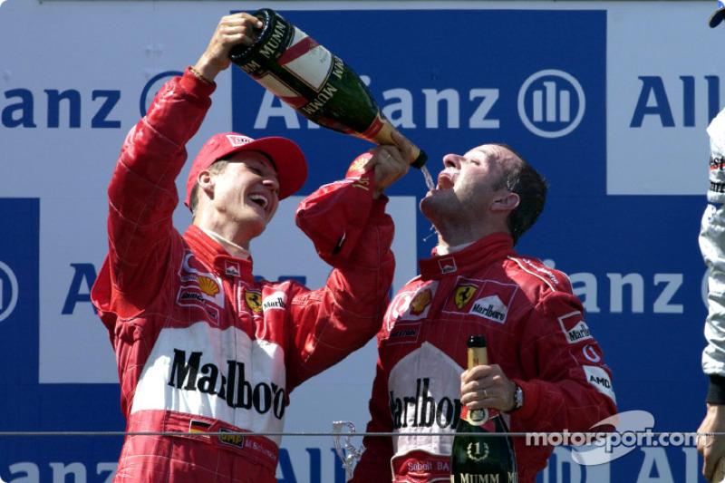 2002 Rubens Barrichello, Ferrari (Nurburgring)