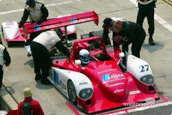 Le vainqueur de la course de l'année dernière et le leader actuel, Doran Lista Racing #27 Judd Dallara