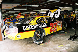 El auto de Ward Burton