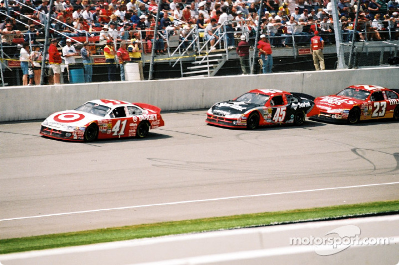 Jimmy Spencer y Kyle Petty