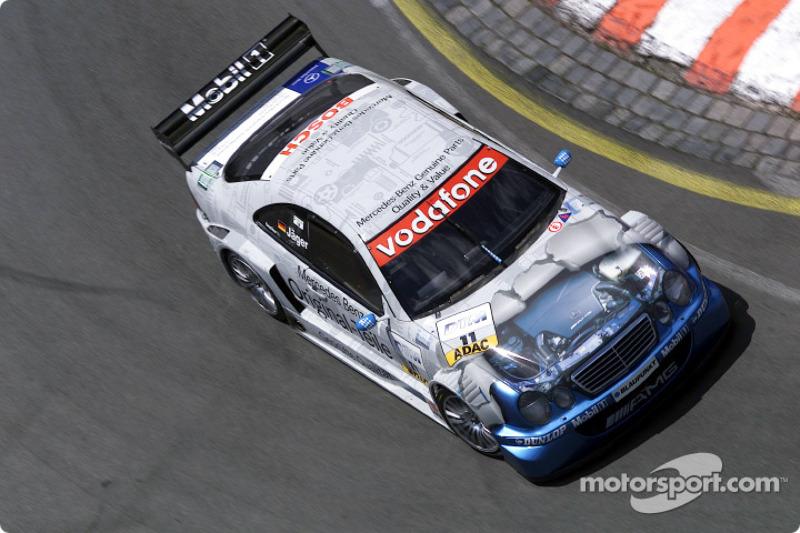 2002: Thomas Jäger (Mercedes) am Norisring