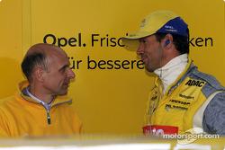 Volker Strycek mit Manuel Reuter, OPC Team Phoenix, Opel Astra V8 Coupé 2002