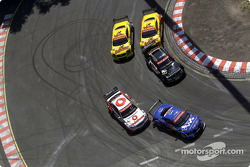 Bernd Schneider, Team HWA, AMG-Mercedes CLK-DTM 2002; Mattias Ekström, Abt Sportsline, Abt-Audi TT-R