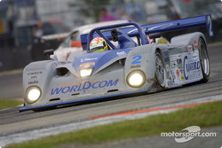 Tony Stewart races the #2 Judd-powered Crawford in the 2002 Rolex 24 At Daytona