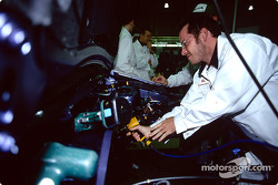 Visit of the Swindon Honda factory to celebrate the 500,000 Honda Civic: Jacques Villeneuve