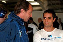 Gerhard Berger et Juan Pablo Montoya