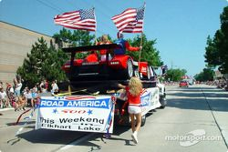 Independence Day in Parade in Sherboygan