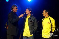 Garn Premio de Gran Bretaña: Giancarlo Fisichella y Takuma Sato