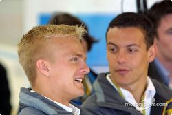 Renault Driver Development program drivers Heikki Kovalainen and Fabio Carbone