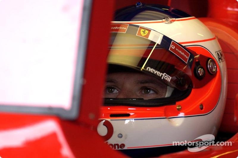 Rubens Barrichello a 6. leggyorsabb körét...