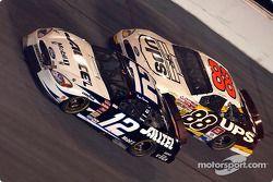 Ryan Newman y Dale Jarrett