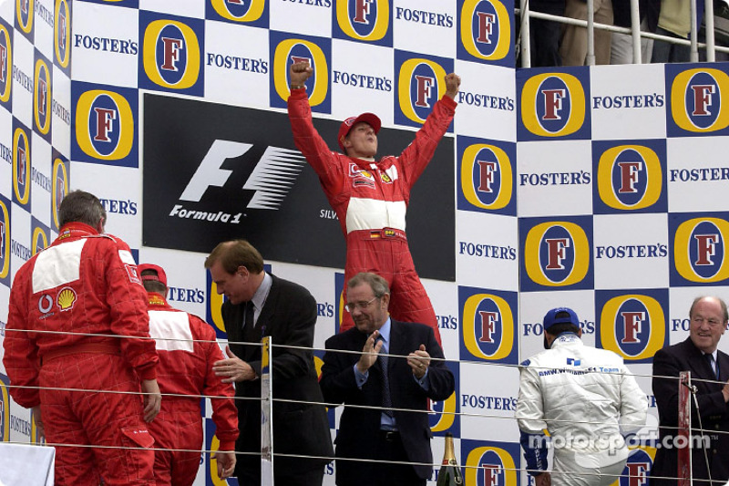 Ez volt a Ferrari 152. F1-es győzelme