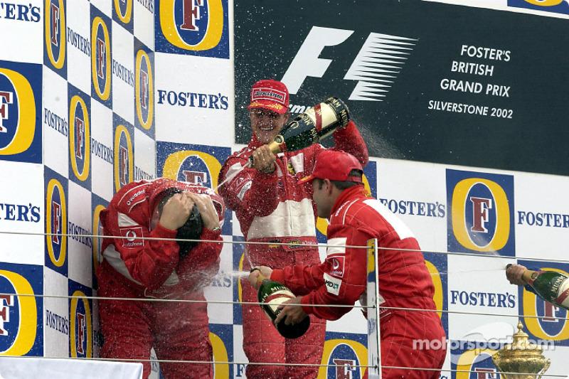 Ez volt Michael Schumacher 60. győzelme