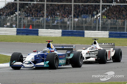 Nick Heidfeld and Olivier Panis