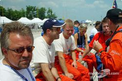 David Brabham and Jan Magnussen