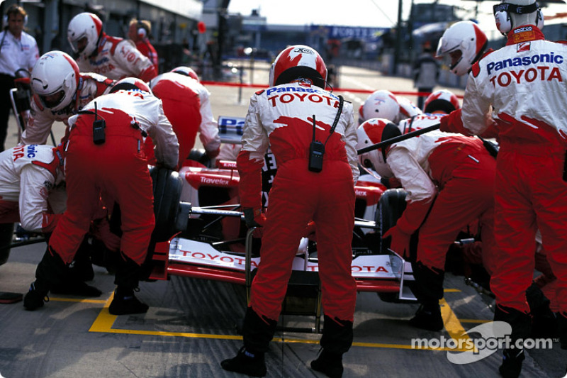 Pitstop simulation with Team Toyota