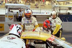 Dale Jarrett en pole position